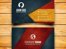 Name Card Template Free Download Ai