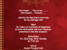 Invitation Card Format For Kua Pujan In Hindi