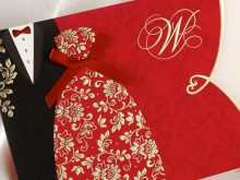 11 Best Wedding Invitation Card Template Red With Stunning Design with Wedding Invitation Card Template Red