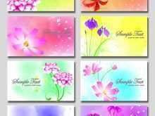 11 Blank Floral Business Card Template Photoshop For Free by Floral Business Card Template Photoshop
