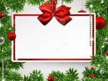 11 Blank Free Xmas Invitation Card Templates for Ms Word for Free Xmas Invitation Card Templates