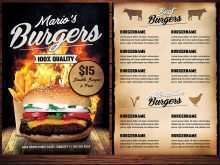 11 Burger Promotion Flyer Template Layouts with Burger Promotion Flyer Template