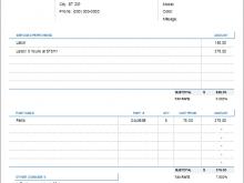 11 Create Automotive Repair Invoice Template Formating with Automotive Repair Invoice Template