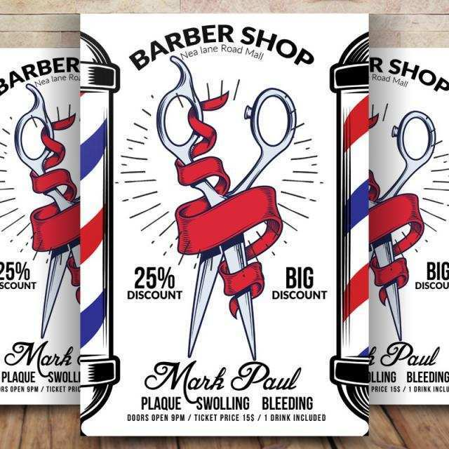 11 Create Barber Shop Flyer Template Free Photo by Barber Shop Flyer Template Free