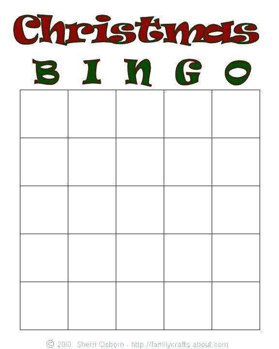 11 Create Bingo Card Template To Print Maker with Bingo Card Template To Print