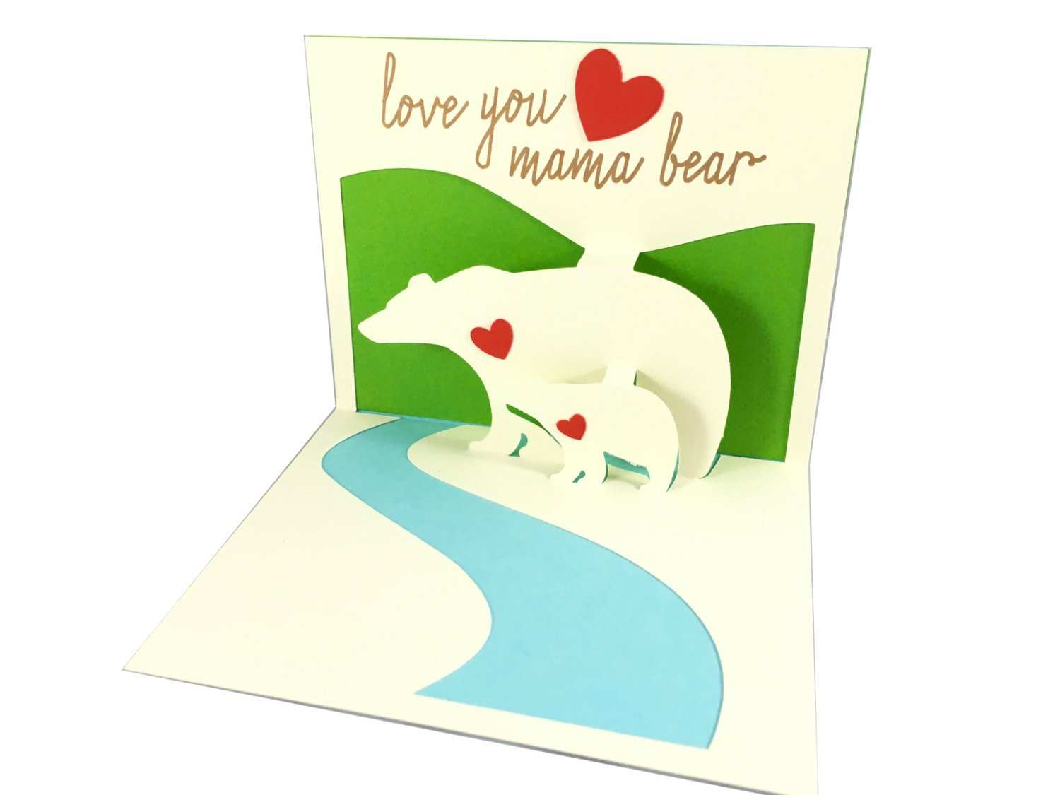 11 Creating 3D Mothers Day Card Template Formating by 3D Mothers Day Card Template