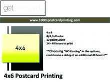 11 Creating 4X6 Postcard Mailing Template in Photoshop for 4X6 Postcard Mailing Template
