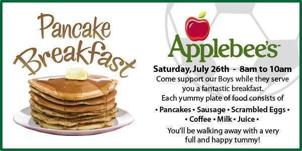 11 Creative Applebee Flapjack Fundraiser Flyer Template for Applebee Flapjack Fundraiser Flyer Template