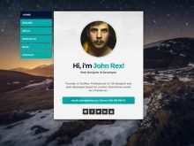 11 Creative Card Design Template Html Templates by Card Design Template Html