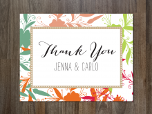 11 Creative Thank You Card Template Adobe Illustrator in Photoshop with Thank You Card Template Adobe Illustrator