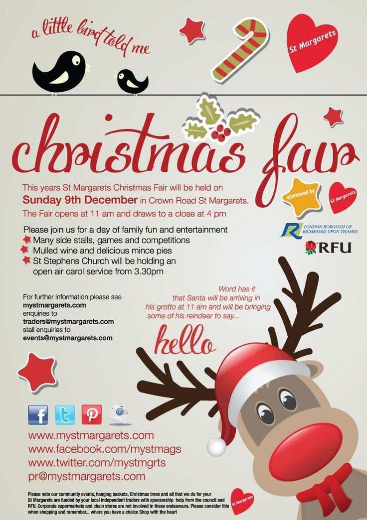 11 Customize Christmas Fair Flyer Template Templates by Christmas Fair Flyer Template