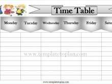 11 Customize Class Schedule Grid Template by Class Schedule Grid Template