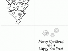 11 Customize Our Free Christmas Card Templates To Colour Photo for Christmas Card Templates To Colour