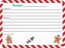 11 Customize Our Free Christmas Recipe Card Templates with Christmas Recipe Card Templates