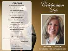 11 Customize Our Free Funeral Flyer Templates With Stunning Design with Funeral Flyer Templates