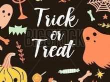 11 Format Halloween Postcard Template Free Download with Halloween Postcard Template Free