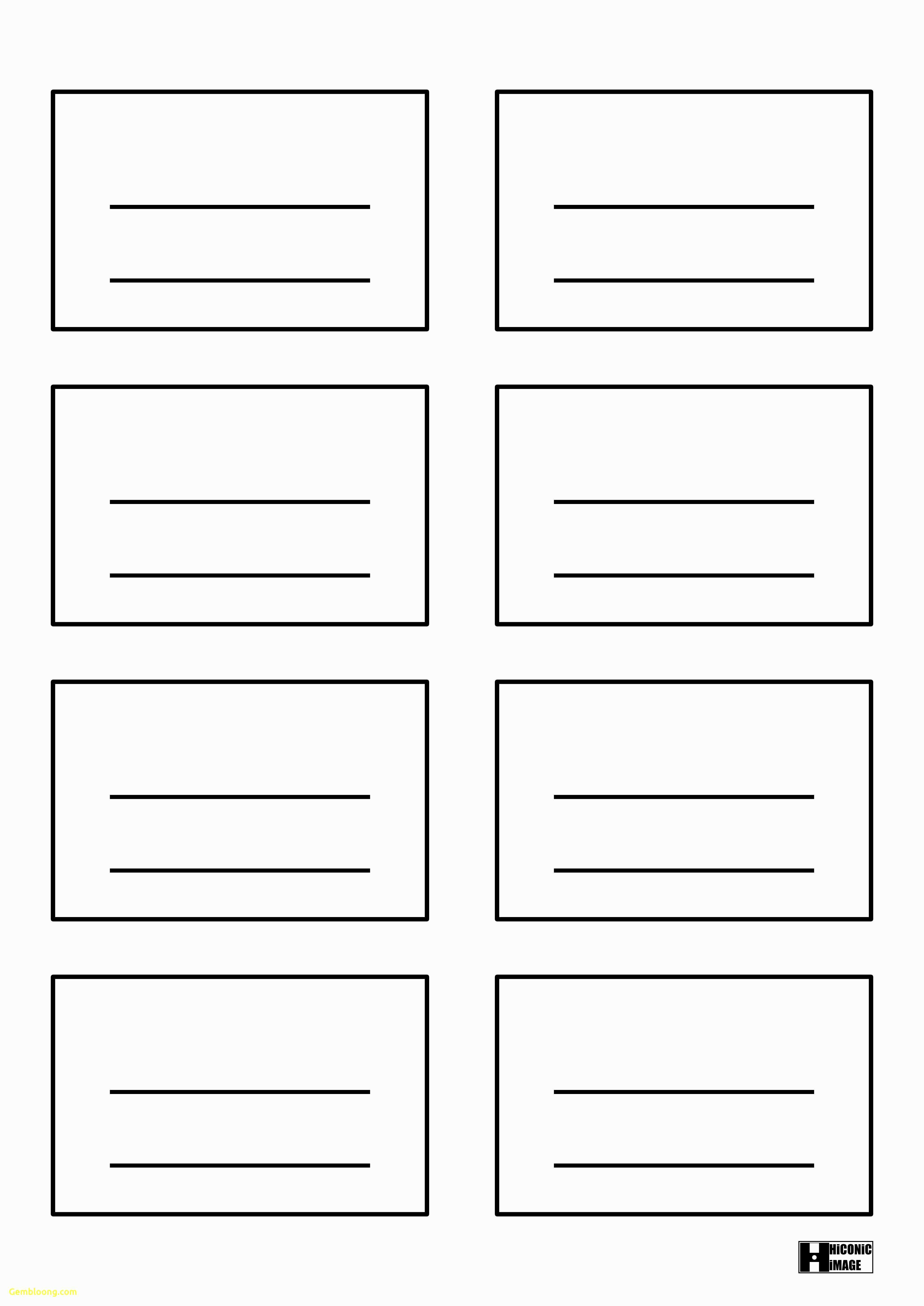 11 Free 4X6 Index Card Printing Template Download with 4X6 Index Card Printing Template