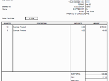 11 Free Blank Invoice Template For Mac in Word by Blank Invoice Template For Mac