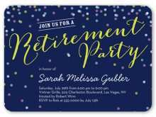11 Free Invitation Card Format For Retirement Party Templates with Invitation Card Format For Retirement Party