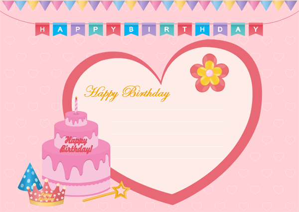 11 Free Print A Birthday Card Template Templates By Print A Birthday Card Template Cards Design Templates