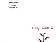 11 Free Printable Bi Fold Christmas Card Template PSD File for Bi Fold Christmas Card Template