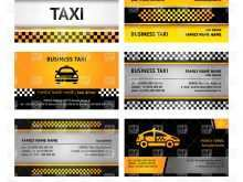 11 Free Printable Business Card Template Taxi Formating by Business Card Template Taxi
