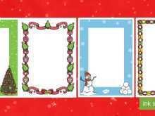 11 Free Printable Template For Christmas Card With Photo in Word with Template For Christmas Card With Photo
