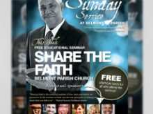 11 Online Free Church Flyer Templates For Free for Free Church Flyer Templates