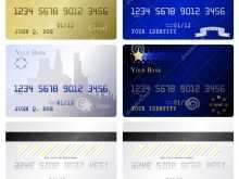 11 Printable A Credit Card Template Layouts by A Credit Card Template