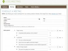 11 Standard Best Meeting Agenda Template PSD File by Best Meeting Agenda Template