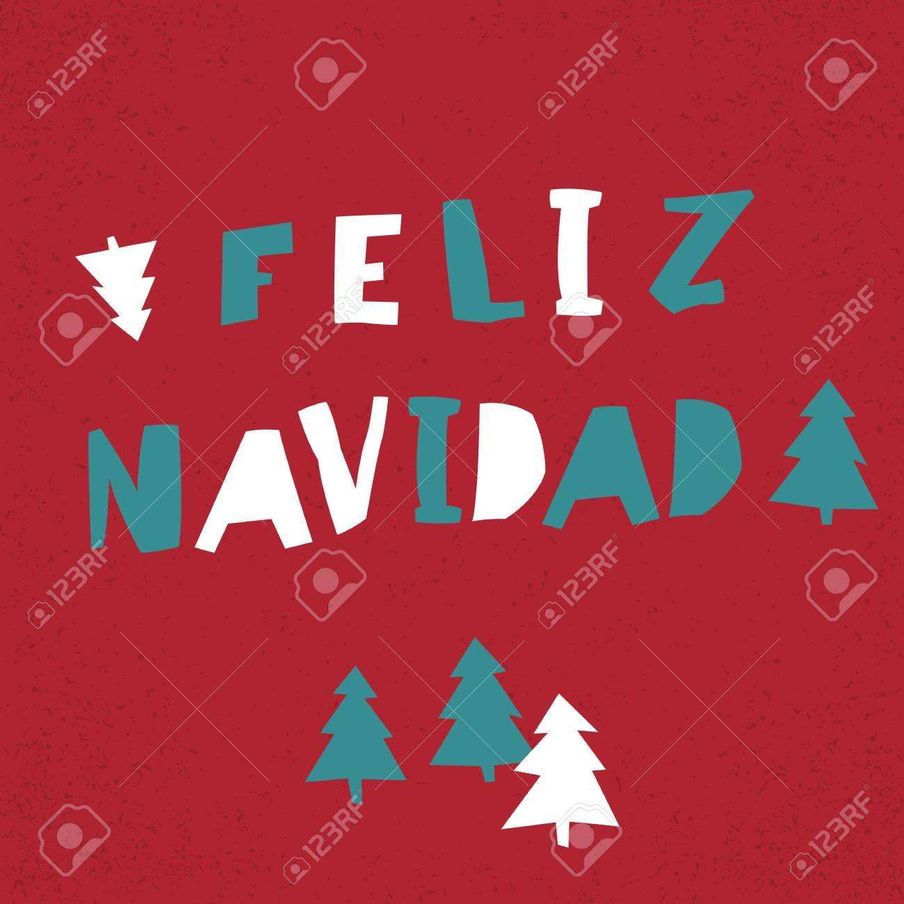 11 Standard Christmas Card Templates In Spanish With Stunning Design with Christmas Card Templates In Spanish
