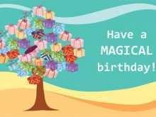 11 Standard Happy Birthday Card Templates Free Formating by Happy Birthday Card Templates Free