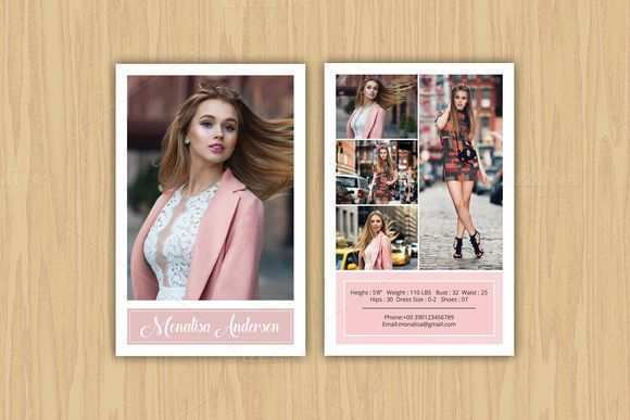 11 The Best Comp Card Template For Microsoft Word in Word by Comp Card Template For Microsoft Word