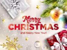 11 Visiting Christmas New Year Greeting Card Templates Maker with Christmas New Year Greeting Card Templates