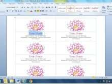12 Adding Microsoft Name Card Templates With Stunning Design with Microsoft Name Card Templates