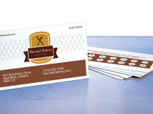Avery Perforated Business Card Template