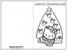 12 Blank Christmas Card Templates To Print Download for Christmas Card Templates To Print