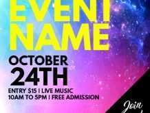 12 Blank Club Flyers Templates Free in Photoshop with Club Flyers Templates Free