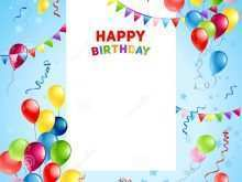 12 Creating Design A Birthday Card Template Maker by Design A Birthday Card Template