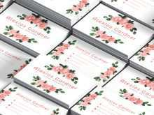 12 Creating Floral Business Card Template Psd for Ms Word by Floral Business Card Template Psd
