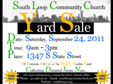 12 Creative Church Yard Sale Flyer Template With Stunning Design by Church Yard Sale Flyer Template
