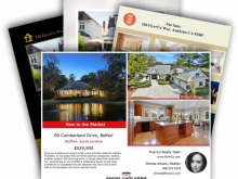 12 Creative Real Estate Flyer Templates For Free with Real Estate Flyer Templates
