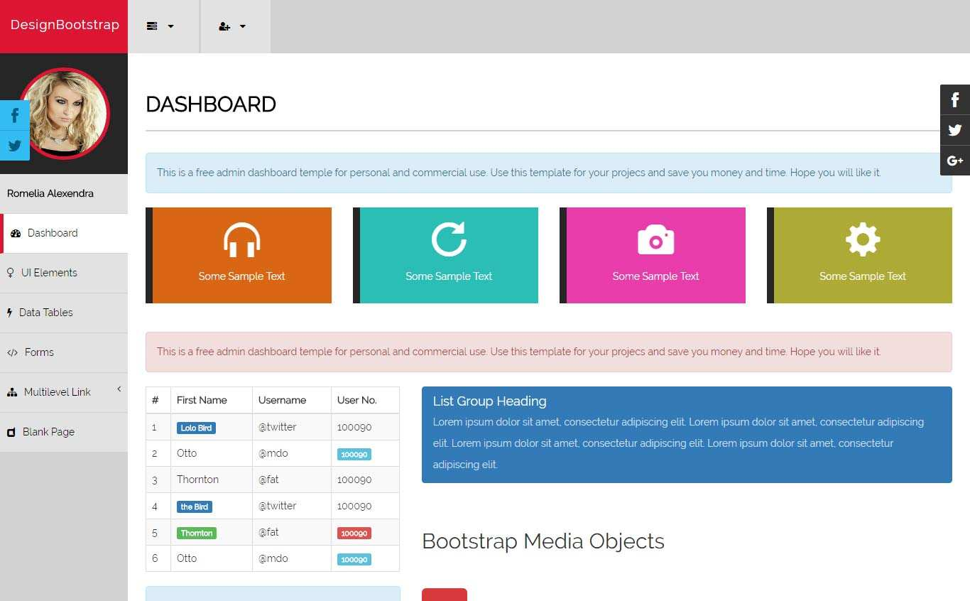 12 Customize Card Template Bootstrap 3 in Word for Card Template Bootstrap 3