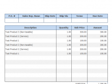 12 Customize Invoice Template Singapore in Word by Invoice Template Singapore