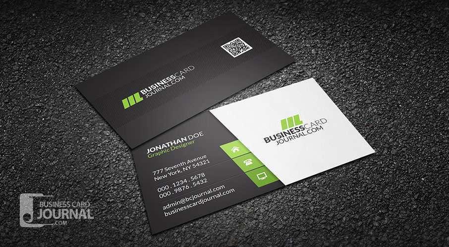 12 Format Business Card Design
