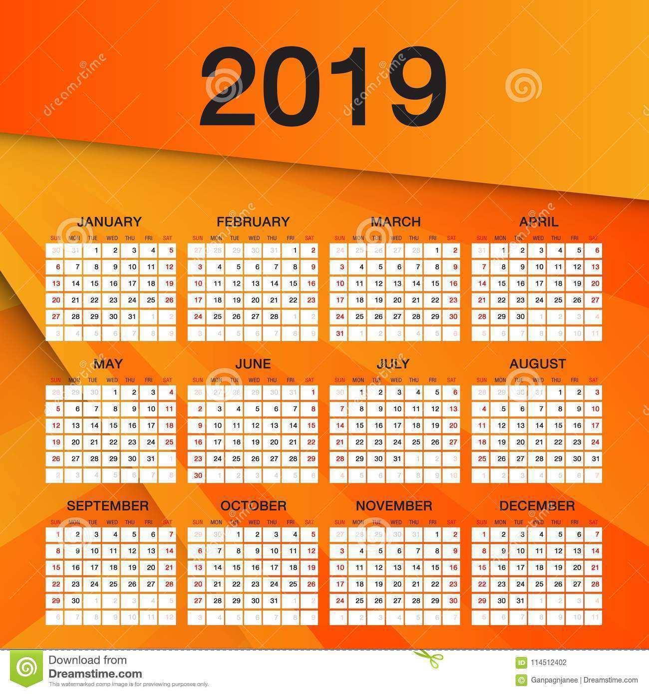 12 Format Calendar Flyer Template Photo for Calendar Flyer Template