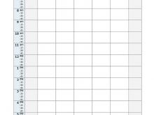 12 Format Class Schedule Template Excel Download by Class Schedule Template Excel