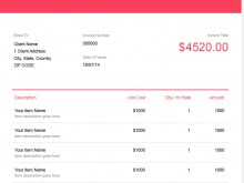 12 Format Invoice Template For Freelance Work Maker with Invoice Template For Freelance Work