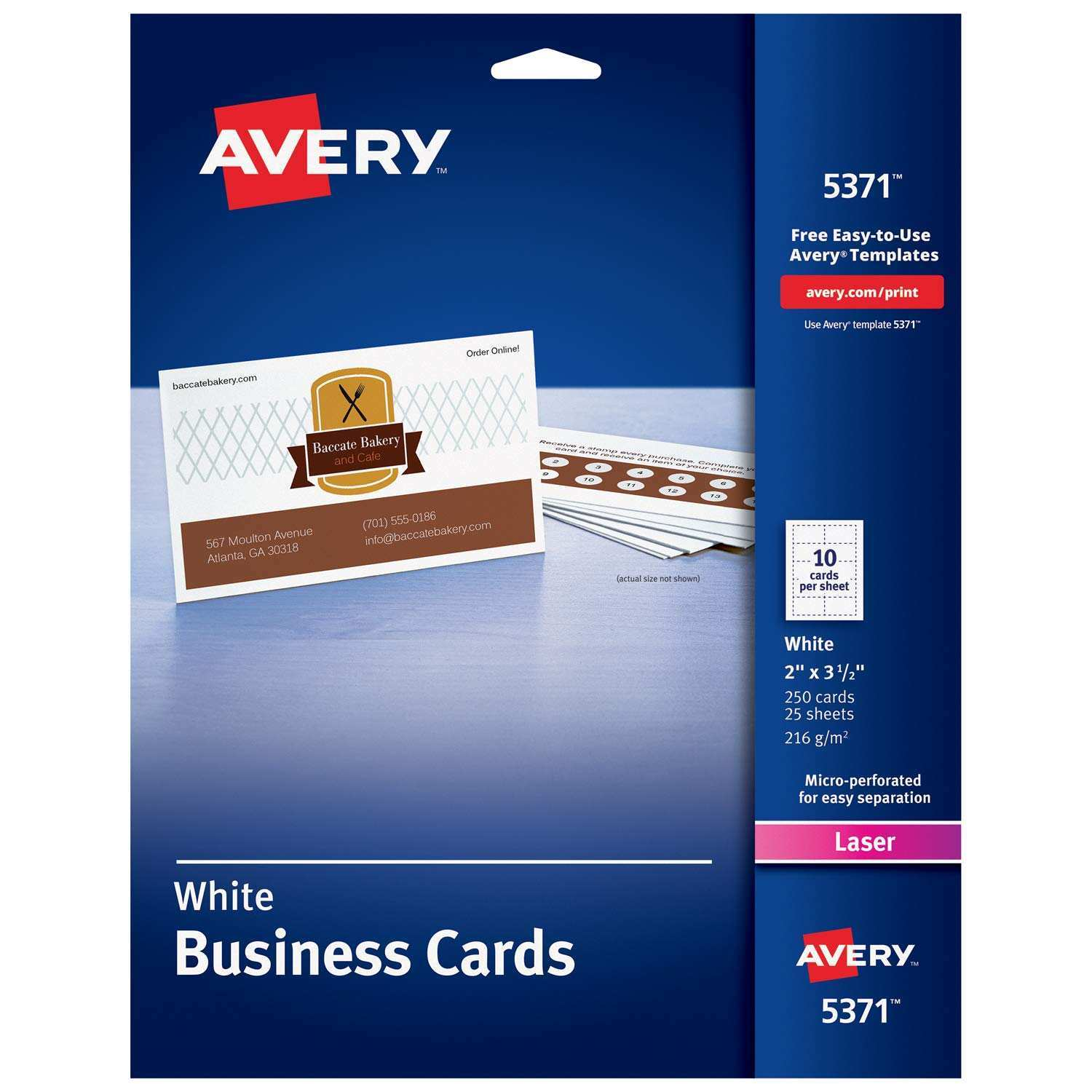 12 Free Avery Business Card Template 05371 PSD File with Avery Business Card Template 05371