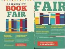 12 Free Book Fair Flyer Template PSD File with Book Fair Flyer Template